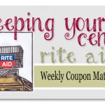Rite Aid Weekly Coupon Matchups