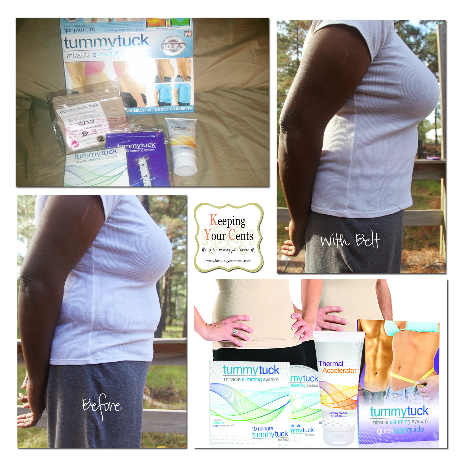 Tummy Tuck Belt® Review and Giveaway
