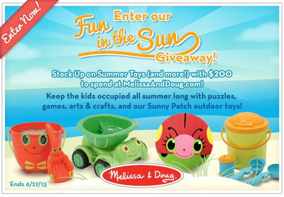 Melissa & Doug Fun in the Sun Event