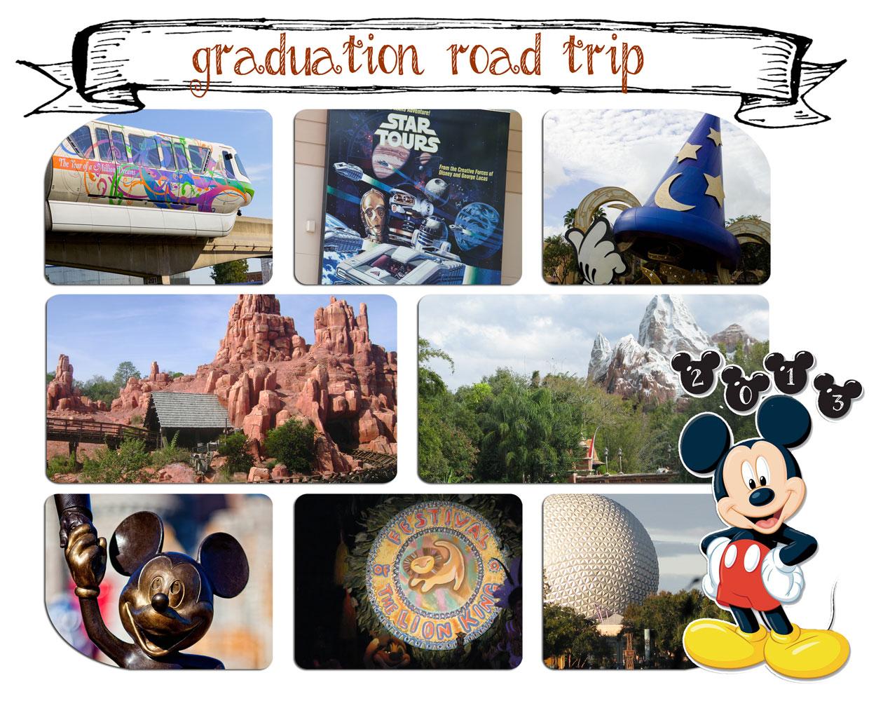 Disney Graduation Trip
