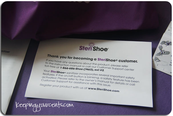 SteriShoe Thank You