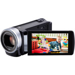 "JVC GZ-E200 Black HD Flash Memory Digital Camcorder w/ 40x Optical Zoom, 3"" LCD, Advanced Image Stabilizer"