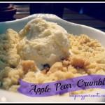 Good Eatin Recipe Hop | Apple Crumble