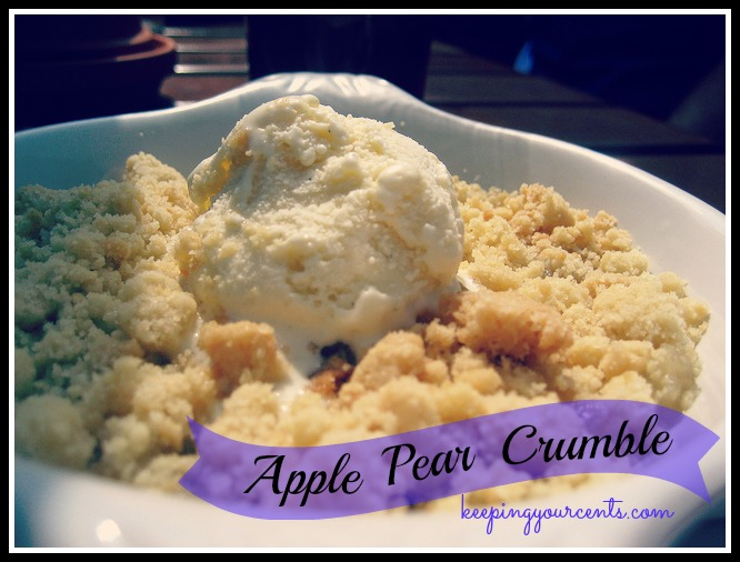 Good Eatin Recipe Hop | Apple Crumble