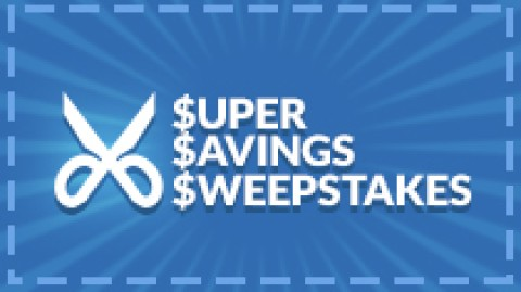 Swagbucks Super Savings Sweepstakes