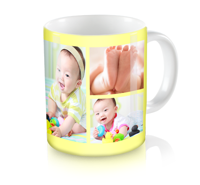personalized big picture coffee mug