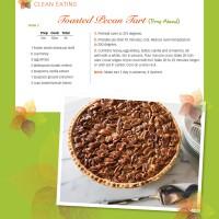 Good Eatin Recipe Hop | Toasted Pecan Tart