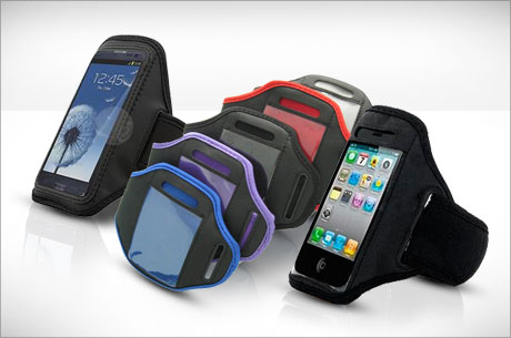 Resolution ready: $6 smartphone armband carrier