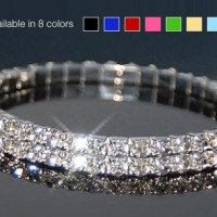 $4 for Swarovski Elements double-tiered