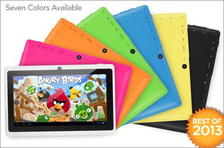 $69 for a 7-inch Google Android 4.1 tablet