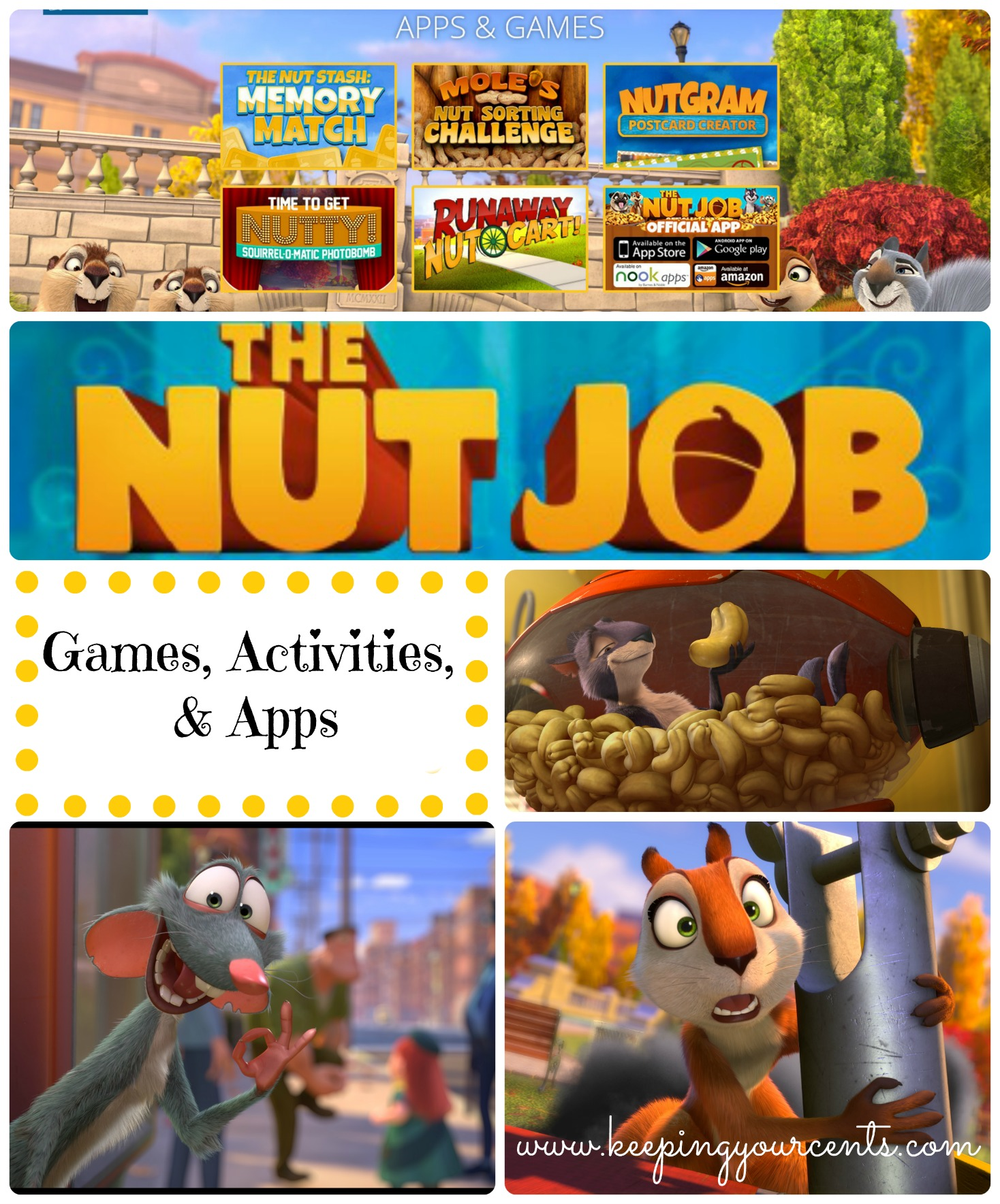 The Nut Job Weekend Activities