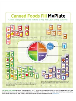 Canned Food Infographic