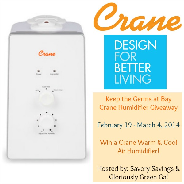 Crane Cool & Warm Air Humidifier Giveaway Event