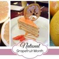 Good Eatin Recipe Hop | Grapefruit Cake