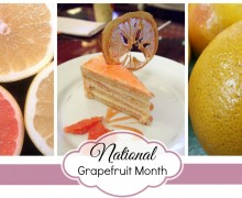 Good Eatin Recipe Hop | Grapefruit Cake