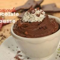 Good Eatin Recipe Hop | Chovocado Fire Mousse