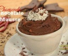 Good Eatin Recipe Hop | Chovocado Fire Mousse