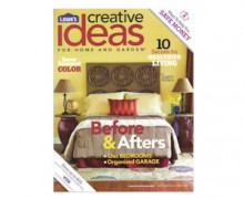 Start a Free Subscription to Lowe's Creative Ideas Magazine