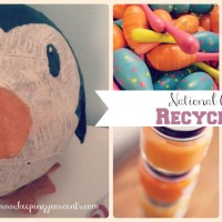National Craft Month | Recycled Crafts