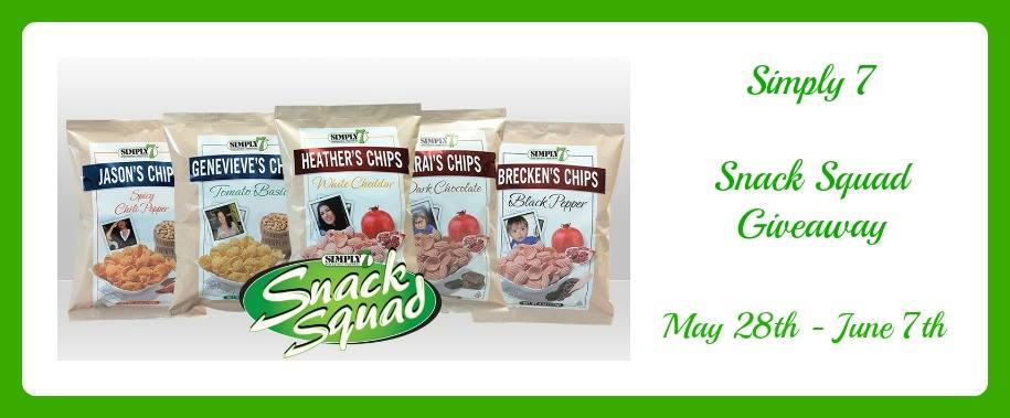 Simply7 Snack Squad Giveaway