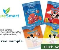 Free sample of Disney Gummies