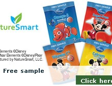 Free sample of Disney Gummies