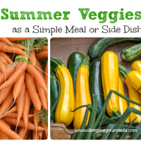 Summer Vegetables Recipe