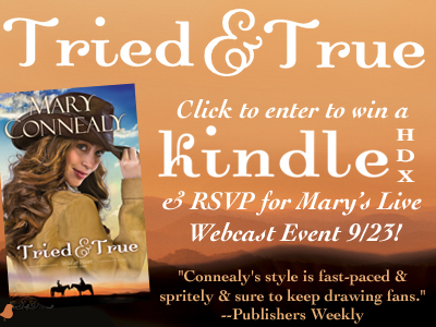 Win a Kindle HDX with Mary Connealy Event
