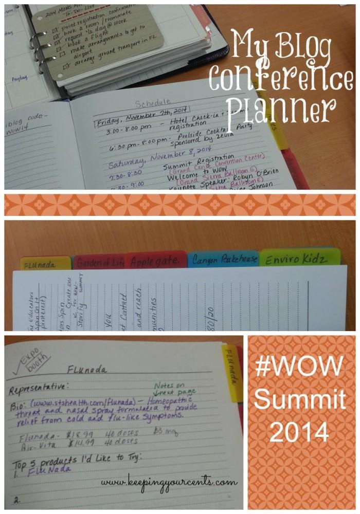 Blog Conference Planner