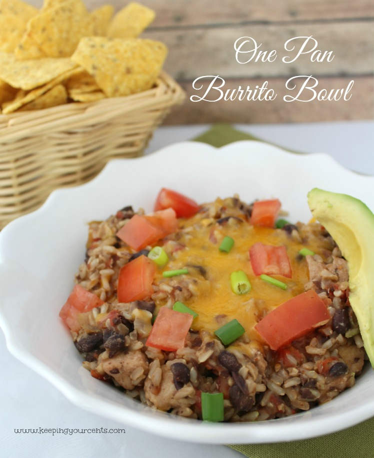 One Pan Burrito Bowl