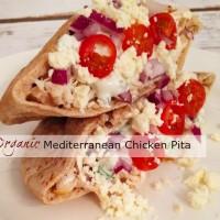 Organic Mediterranean Chicken Pita
