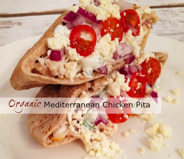 Organic Chicken Pita