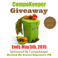 Win a CompoKeeper for Earth Day