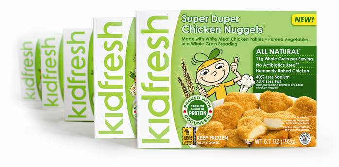 KidFresh Frozen Nuggets