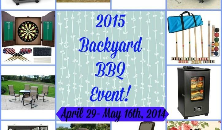 Backyard BBQ Giveaway Event