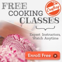Free Craftsy Cooking Class