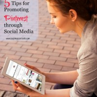 How to Promote Pinterest With Social Media