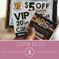 Coupon Basics:  Finding Coupons