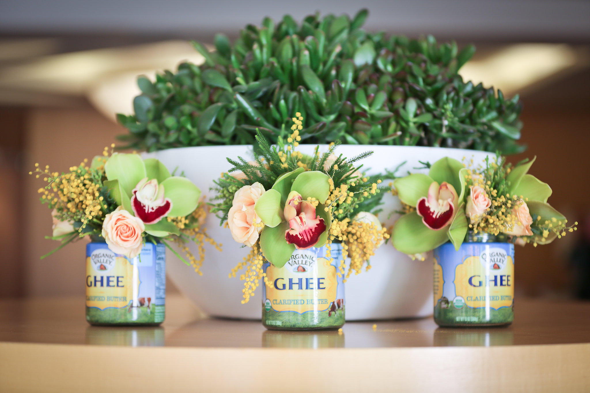 Ghee Flower Arrangements